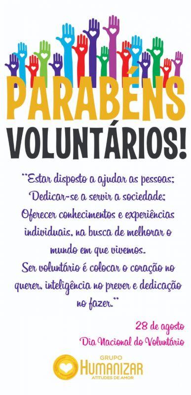 Dia Nacional do Voluntário