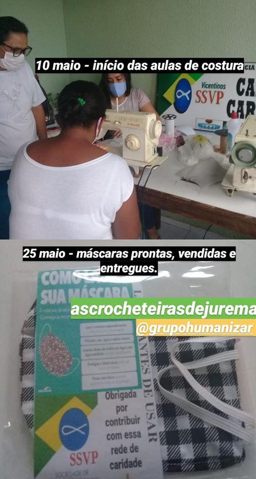 Aulas para as Crocheiteiras de Jurema