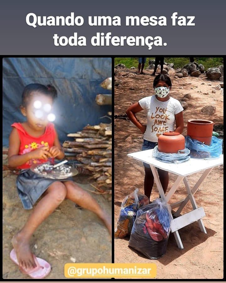 Uma mesa faz diferença
