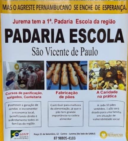 Amanhã é a inauguração da Padaria!