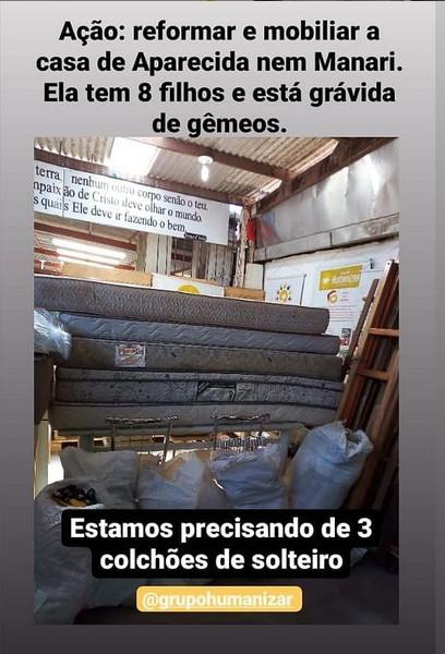 [Transformamos Vidas]Ação: Reformar e mobiliar a casa de Aparecida