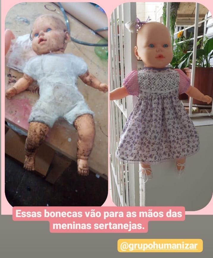 Uma linda boneca!
