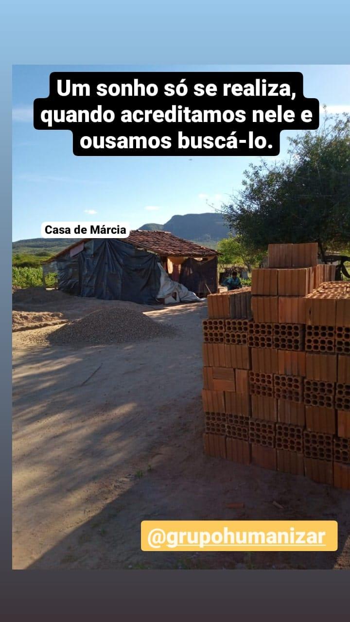 Construção da Casa de Márcia