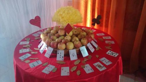 Ornamentação mesa