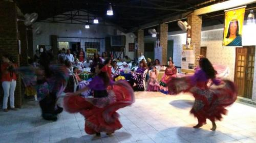 Apresentação de dança